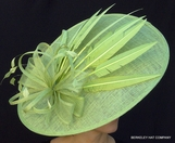 Art Deco Derby Fascinator Hat