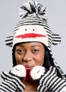 Monkey Hat Striped