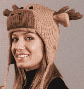 MOOSE Knit  Pilot Hat