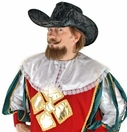 Musketeer Hat in Black<br>from Elope