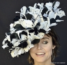 Opening Day Spectator Derby Fascinator Hat
