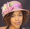 Packable Cloche with Flower