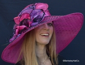 Packable Hat for the Kentucky Derby