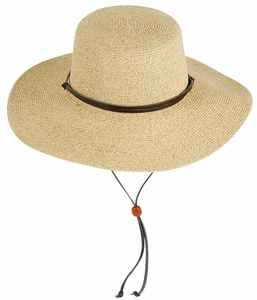 Packable Women's Hat With Cord
