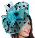 Polka Dot Fascinator