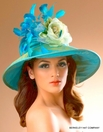 "Silk Finish Turn Down Derby Hat<br>""Lorielle"" by Arturo Rios"
