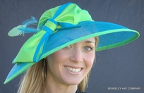Sinamay Hat for the Kentucky Derby