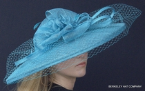 Spectacular Sinamay Kentucky Derby Hat