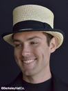Straw Top Hat<br>   from Grace