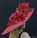 Sunsational Red Kentucky Derby Hat