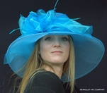 Sweet & Shimmery Hat for the Kentucky Derby