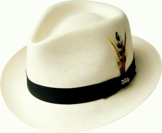 The Guthrie <br> Men's Soft Shantung Straw <br> Dress Hat
