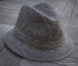 Traditional Salt and Pepper Walking Hat (IR81)