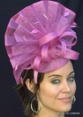 Triple Tiara Pink Fascinator