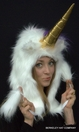 Unicorn  Hat  Faux Fur