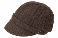 Woman's Peaked Knit Cap