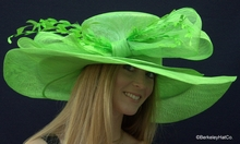 Women's Amazing Large Brimmed Derby Hat