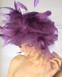 Women's<br> Dramatic Fascinator Hat