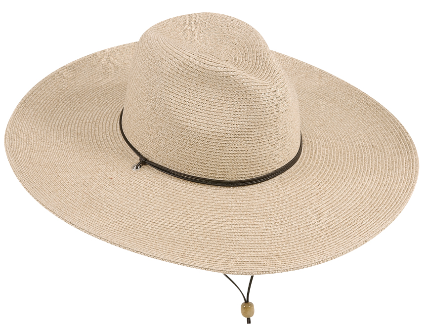 s large brim fedora hat with chincord