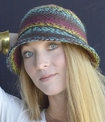 Women's Yarn Cloche Hat