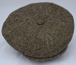 Wool Cabbie Cap