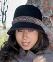 Wool Cloche with Paisley Band