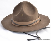 Wool Felt Mountie Hat
