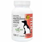 1-TDC Periodontal & Joint Health for Dogs & Cats (120 softgels) by Elite Vet