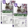 12 MONTH Advantage II Flea Control Large Cat (for Cats over 9 lbs.)