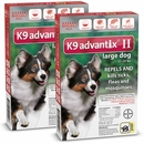 12 MONTH K9 Advantix II RED for Large Dogs (21-55 lbs)