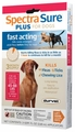 3 MONTH Spectra Sure Plus for Dogs 45-88 lbs