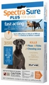 3 MONTH Spectra Sure Plus for Dogs 89-132 lbs