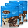 3-PACK 3M Nutri-Dog All Natural Dental Chews SMALL (45 ct)