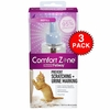 3-PACK Comfort Zone with Feliway Refill (144 mL)