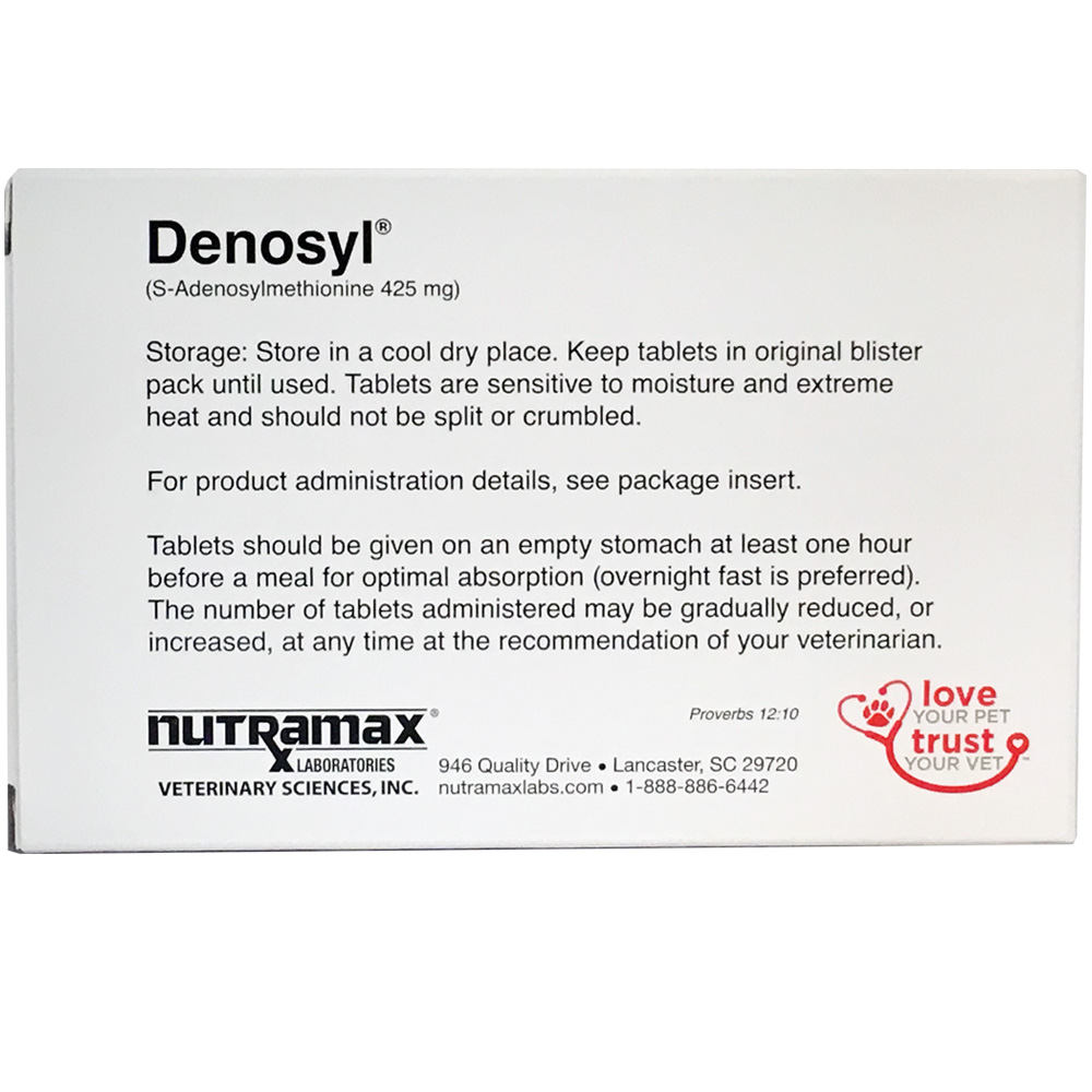 3 Pack Denosyl� for dogs over 35 lbs (90 tablets) 425 mg