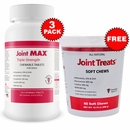 3-PACK Joint MAX® Triple Strength (360 Chewable Tablets) + FREE Joint Treats®