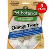 3 PACK Pet Botanics Healthy Omega Treats - Chicken (15 oz)