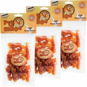 3 Pack Pet 'n Shape Chik 'n Sweet Potato - 12oz