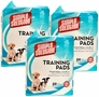 3-PACK Simple Solution Training Pads (150 Pack)