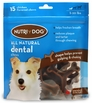 3M Nutri-Dog All Natural Dental Chews SMALL (15 ct)