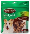 3M Nutri-Dog Hip And Joint Chews Small (15 ct)