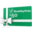 $50 HealthyPets.com Gift Certificate