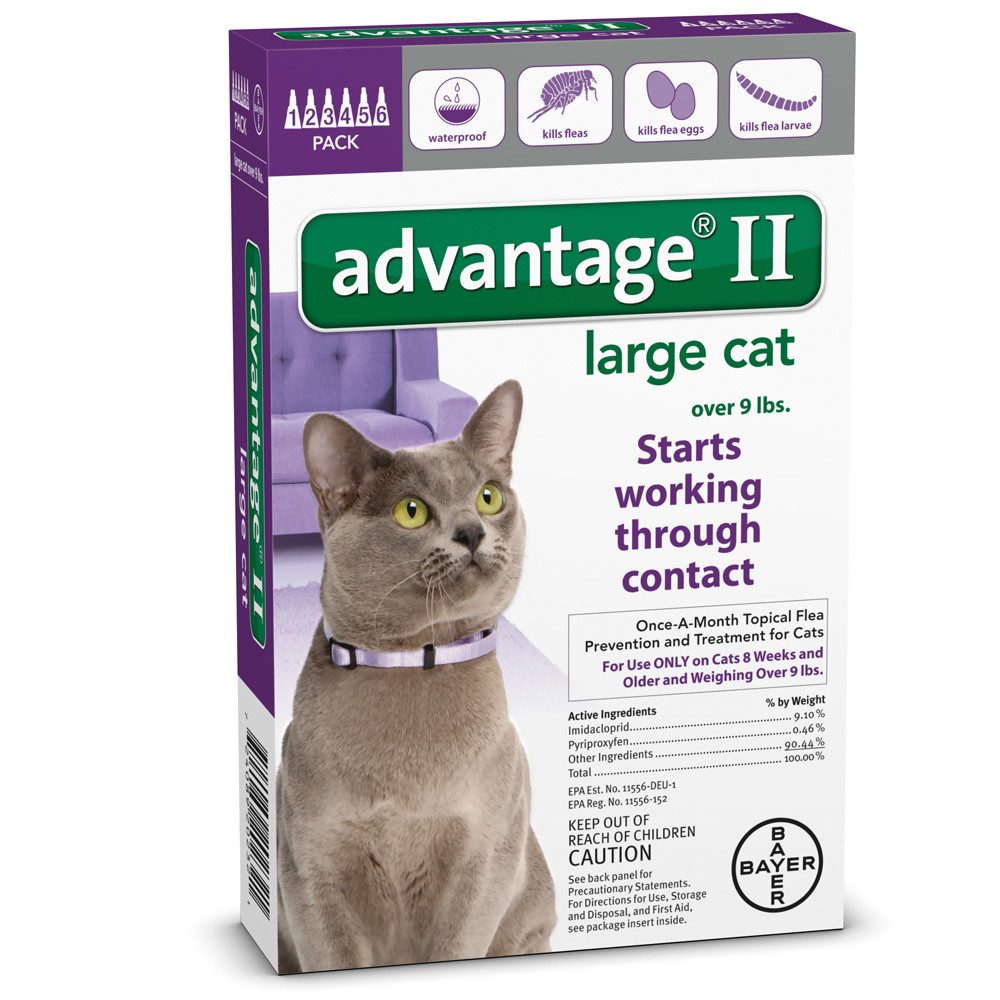 Advantage Ii Flea And Tick For Cats