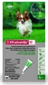 6 MONTH K9 ADVANTIX Green (for dogs up to 10lbs.)