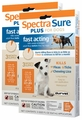 6 MONTH Spectra Sure Plus for Dogs 0-22 lbs