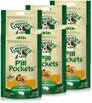 6PK Pill Pockets SMALL Dog 19.2 oz (180 Chicken pockets)