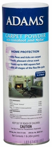 Adams Carpet Powder w/ Linalool and Nylar (1 lb)