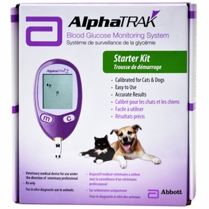 AlphaTrack 2 Blood Glucose Monitoring System Meter