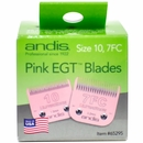 Andis Pink EGT Blades - Size 10, 7FC