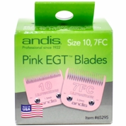 Andis® Pink EGT™ Blades - Size 10, 7FC